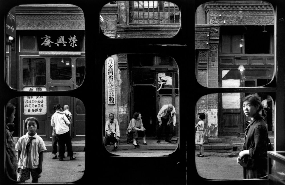 Marc Riboud, Beijing (from inside antique shop), 1965