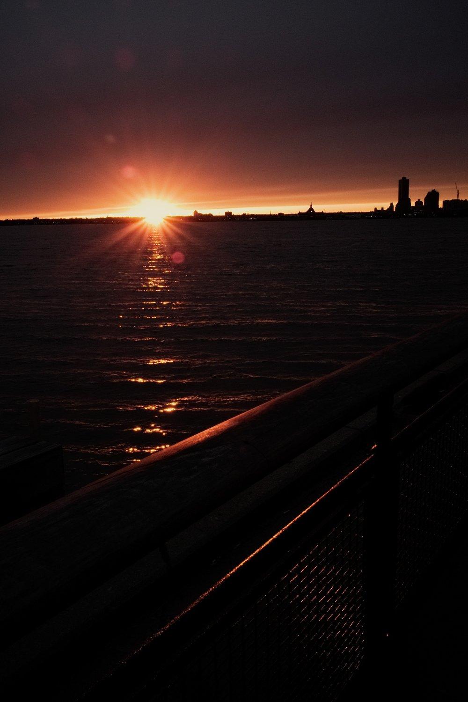 7:21pm, Battery Park