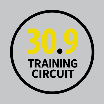 30.9 Training Circuit ti offre 5 programmi di allenamento altamente personalizzabili