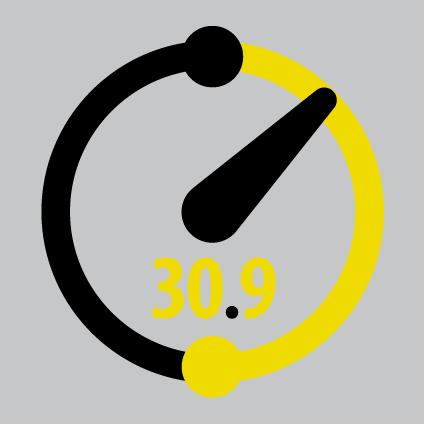 30.9 Training Circuit massimizza l'effcacia degli esercizi e permette di raggiungere risultati superiori in minor tempo