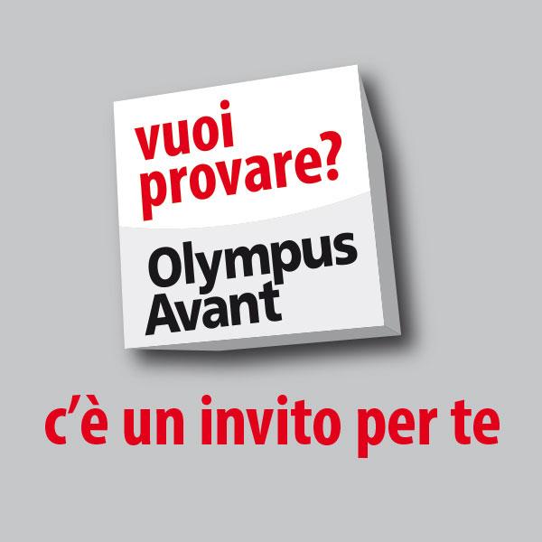Vuoi provare Olympus Avant? C'è un invito per te