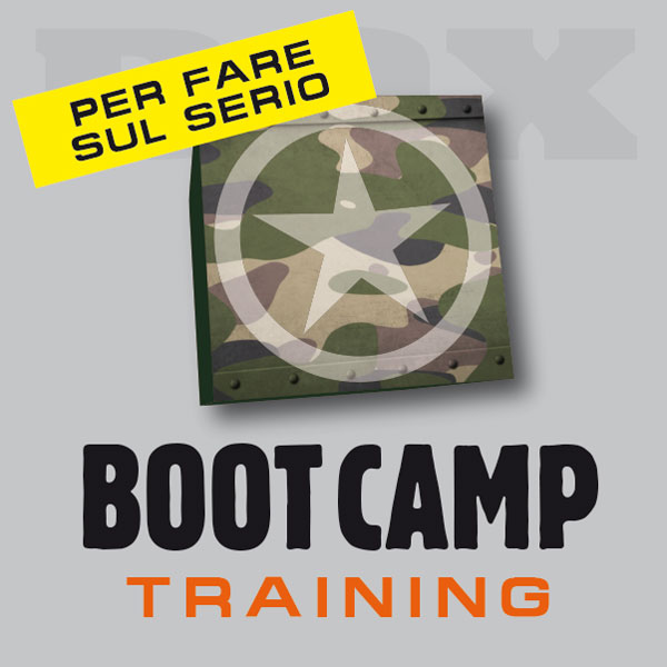 Allenarsi nel BOX BOOT CAMP training di Gallarate