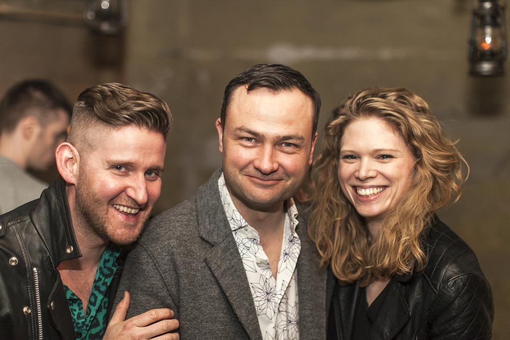 Tom Rogers (Set & Costume Designer), Philip WIlson (Adaptor & Director), Sarah Butcher (Assistant Director)