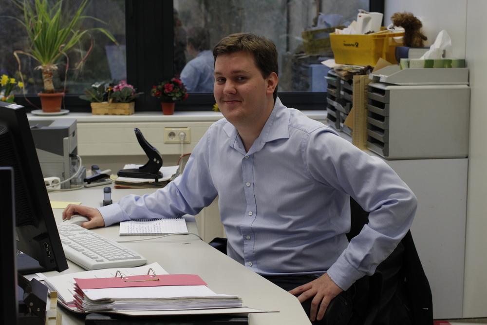 Daniel praktiserar inom statsvetenskap på Bezirksregierung Düsseldorf.