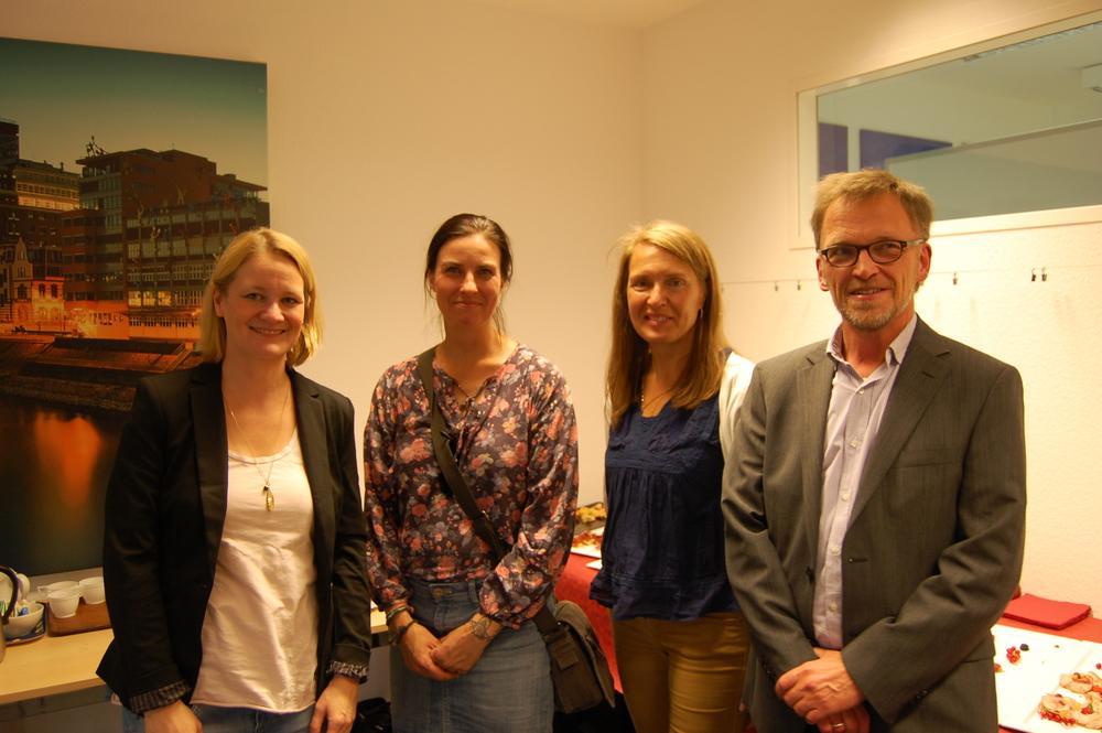 Våra lärare i tyska, norska, finska och danska
