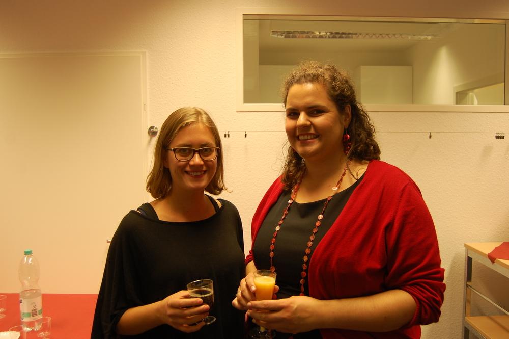 Renate med Helen från Svenska Handelskammaren