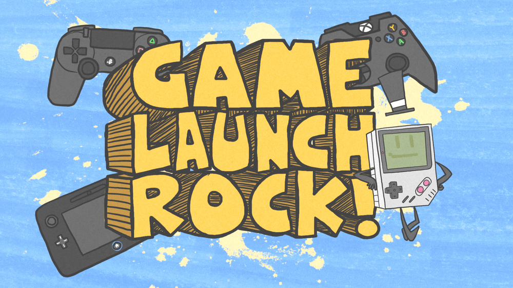 "Game Launch Rock! -2:22- This is another video that I was contracted to do for Brent ""brentalfloss"" Black and this one was featured during Youtube's 2013 Geek week. Its a cautionary tale about that I know all too well about buying video game consoles the day they come out."