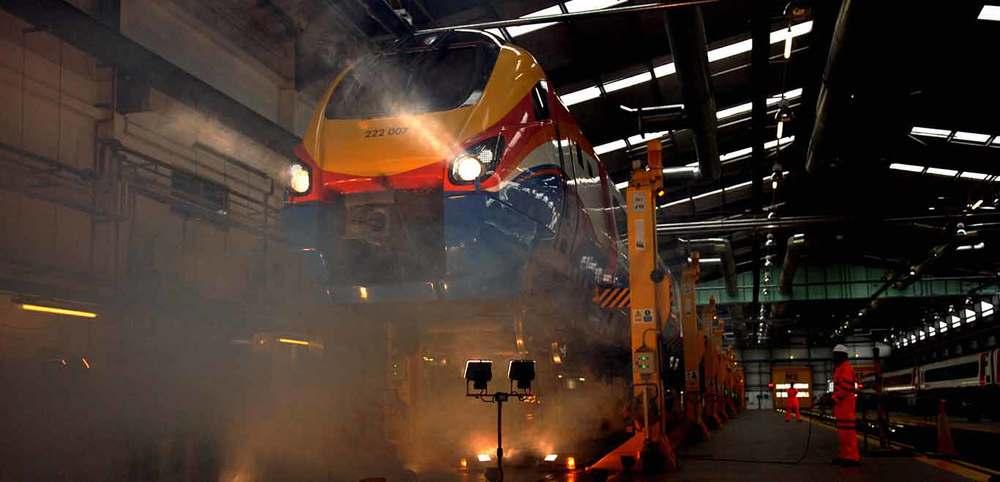 World's Largest Rail Cluster
