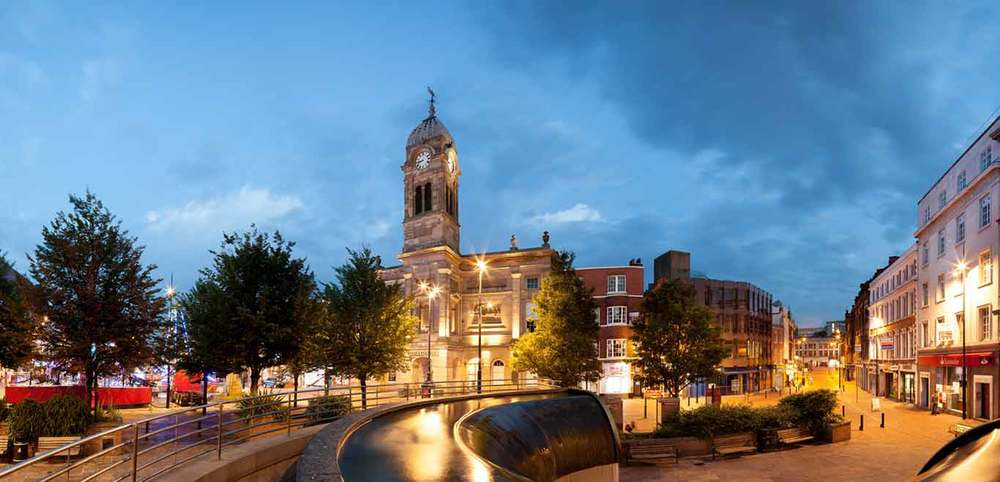 Derby has the fastest growing economy in the UK with a growth rate in GVA of 23%