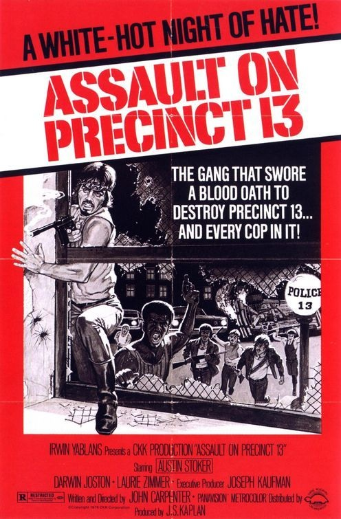 ASSAULT ON PRECINCT 13 (Carpenter, 1976) - Original U.S One-Sheet, Linen Backed