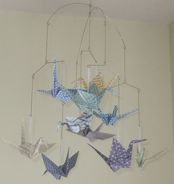 B 57 - Katiemade Crafts                                Katherine Parker I make origami mobiles, bouquets, ornaments & frames, stationary and wreaths inspired by paper.