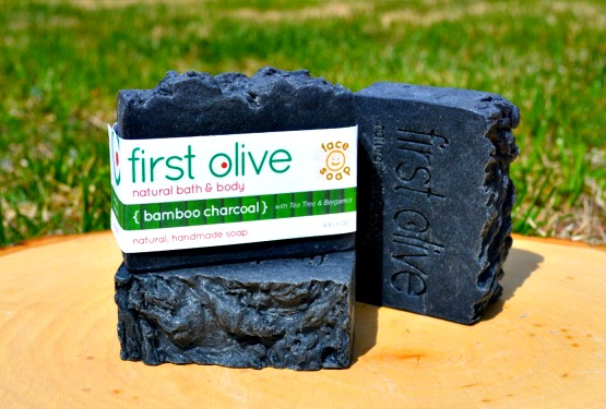 A 79 - First Olive                                                 Felicia Sanderson I make natural bath and body products from scratch. My main product is handmade olive oil based soap