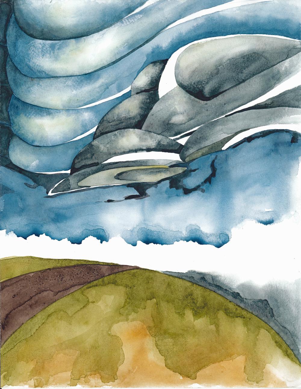 B 79 - Zendustria                         Jason Williams Watercolor abstract interpretations of nature