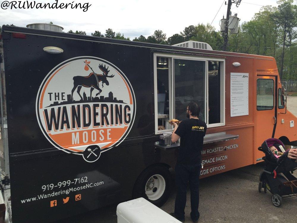 wandering moose -