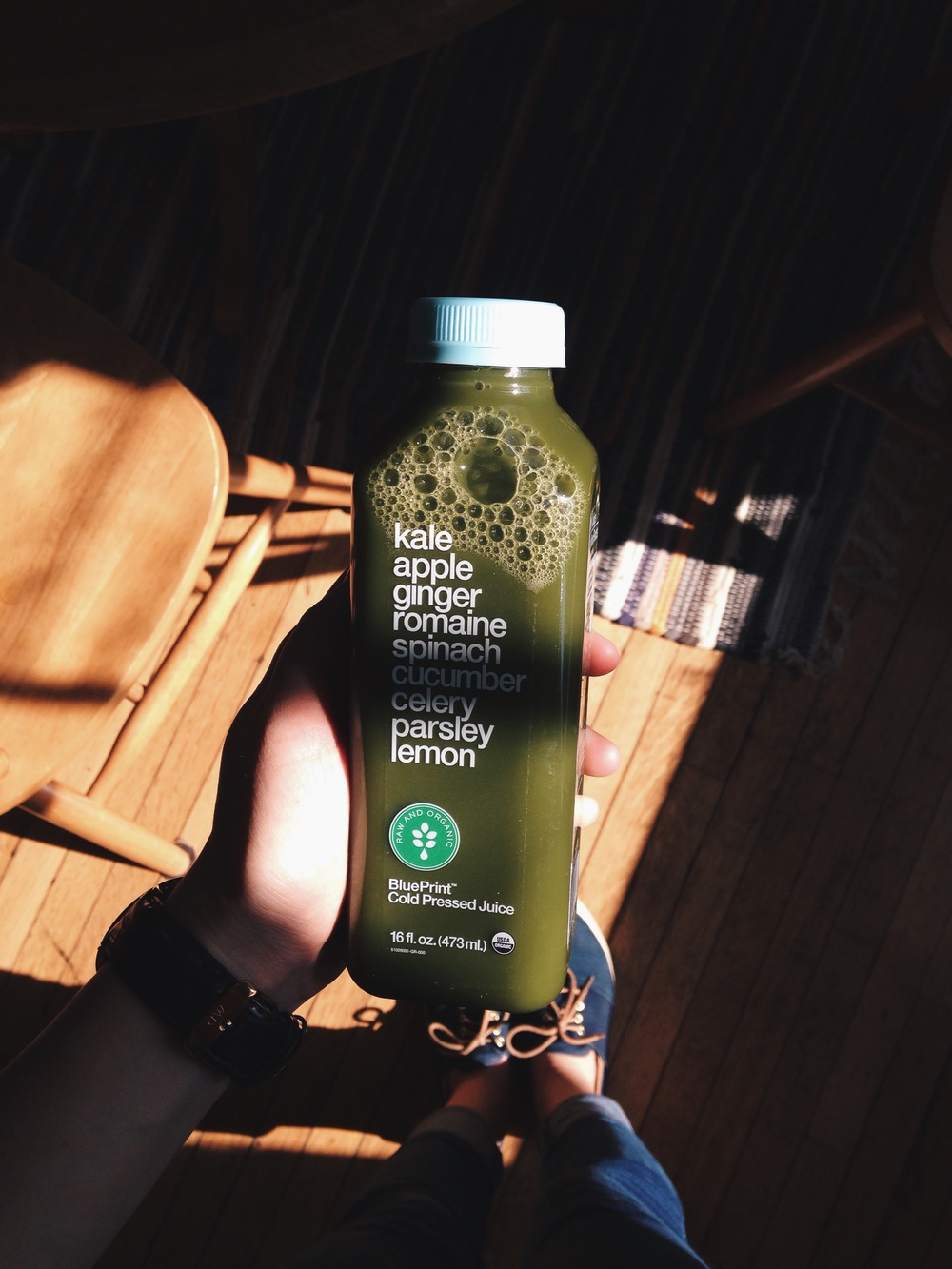Got my veggies in the next morning with one of these suckers. Have you tried this before? I actually REALLY liked it. I would love to try one of their cleanses at some point.