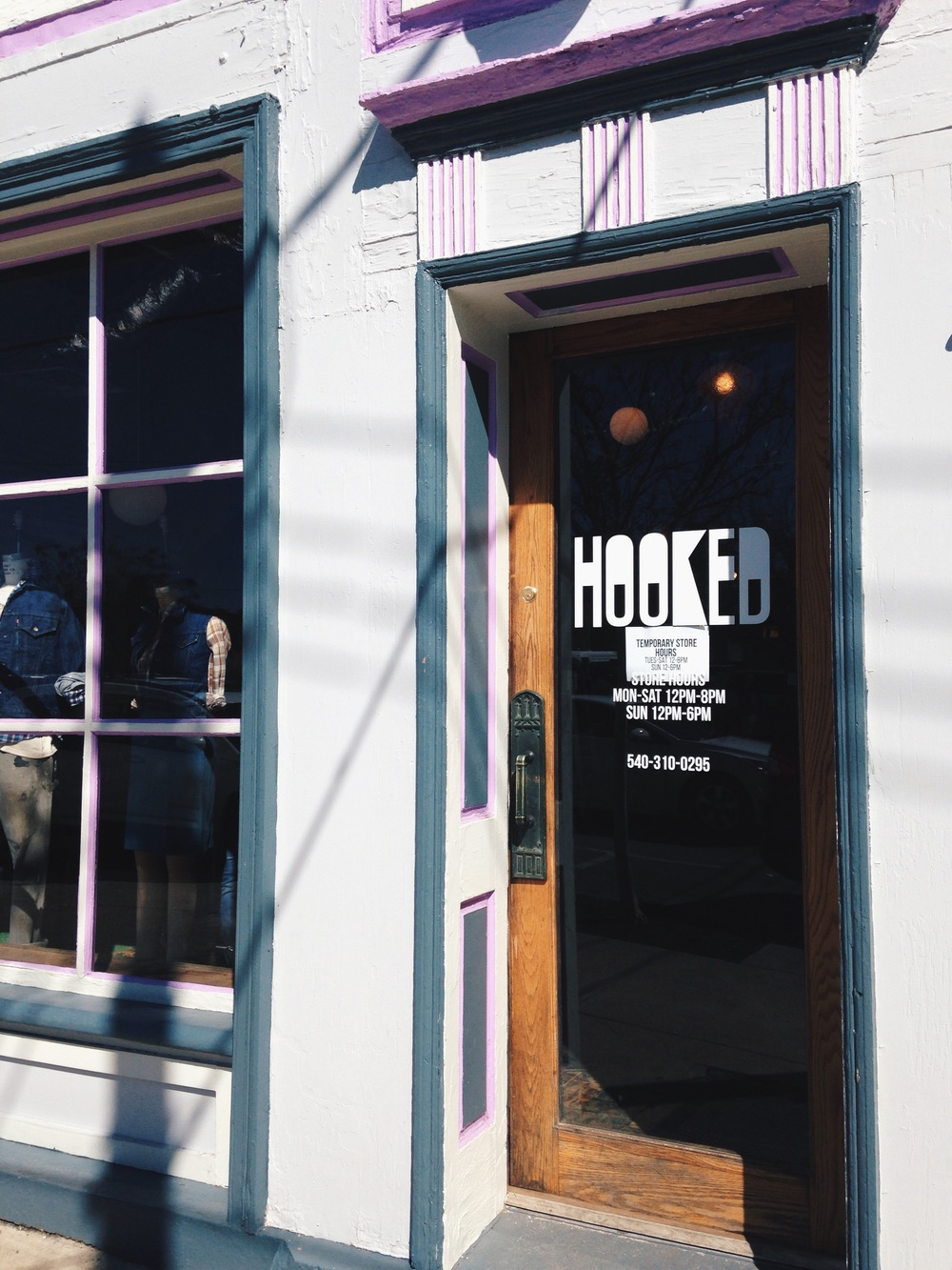 One of which included this store called Hooked. Ever been? If you're ever in the area,go.They have polaroid film, people.