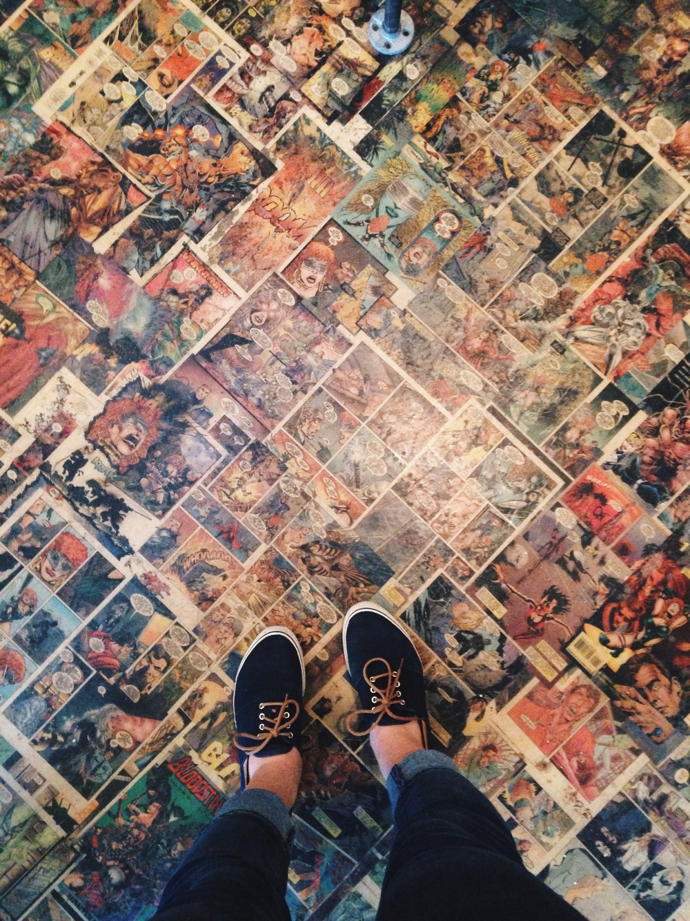 How cool is this floor?!