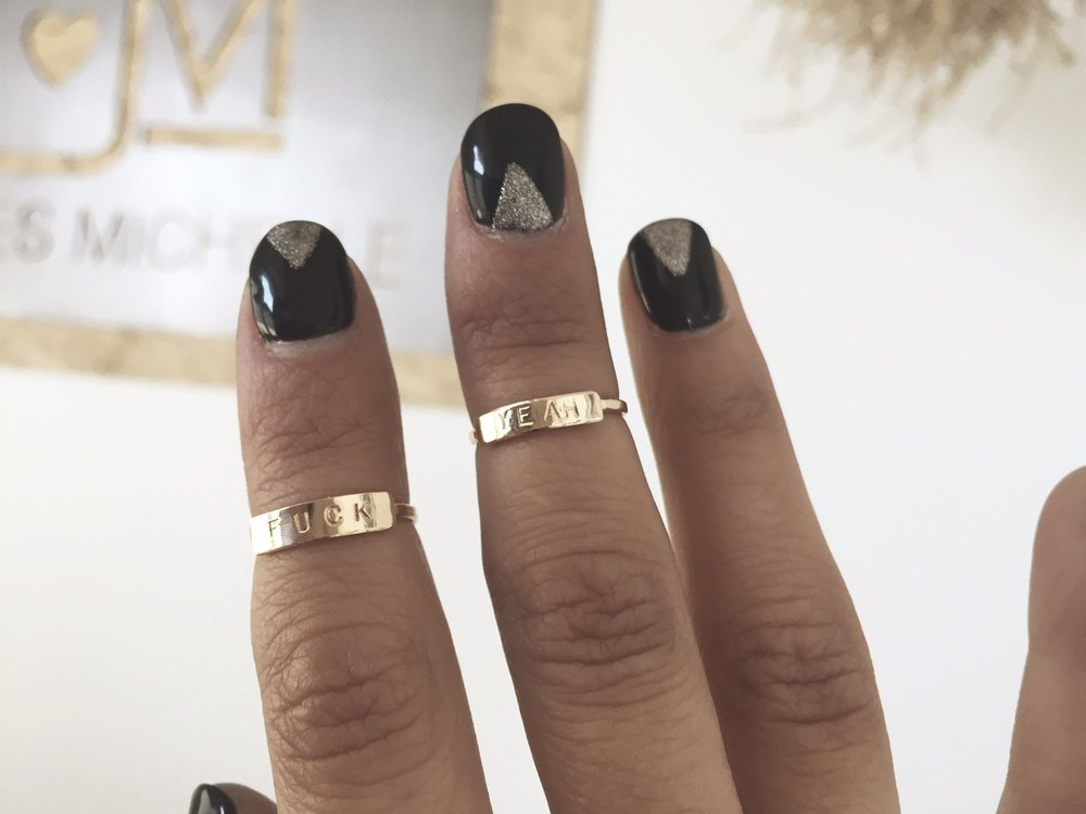 midi word rings (personal favorite)