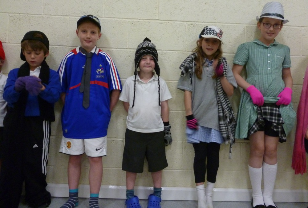 Kidzplay, Boroughbridge - The Dressing Up Game, Summer 2015