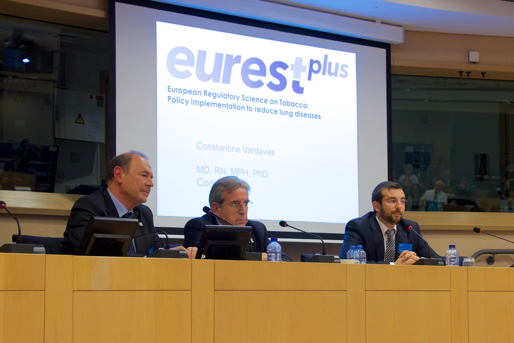 2016 European Parliament: EUREST-PLUS Horizon2020 presentation