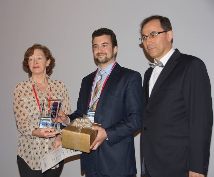 2014 Young Profesionals award, European Conference on Tobacco or Health