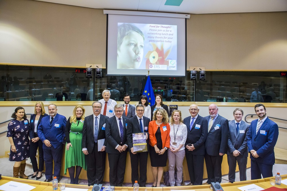 2016, European Parliament, World No Tobacco Day