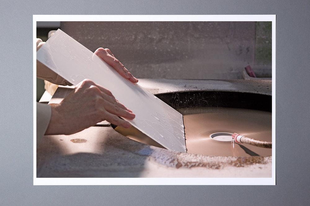 Herstellungsprozess der Glasschirme