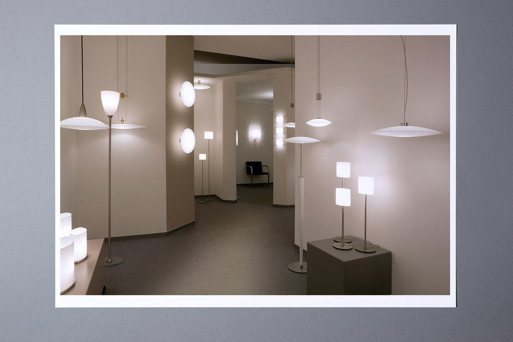 Showroom in der Kreisl Licht Manufaktur