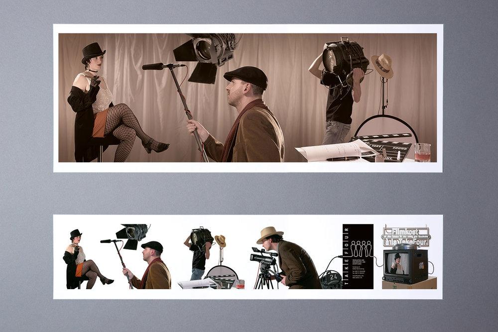 Bildmontage für das Demofilm-Booklet