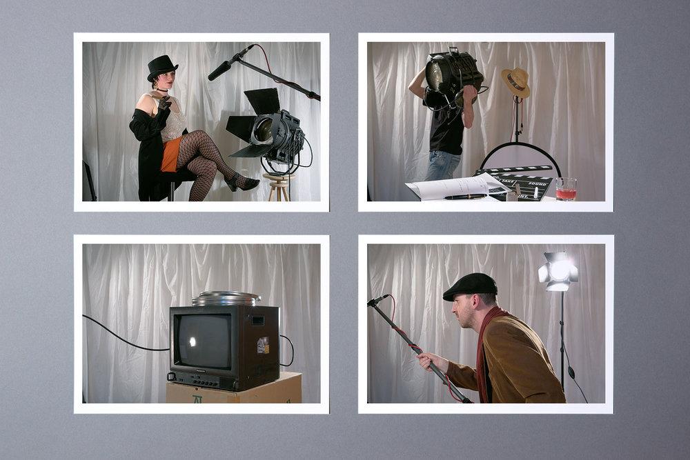 Einzelfotos für das Demofilm-Booklet