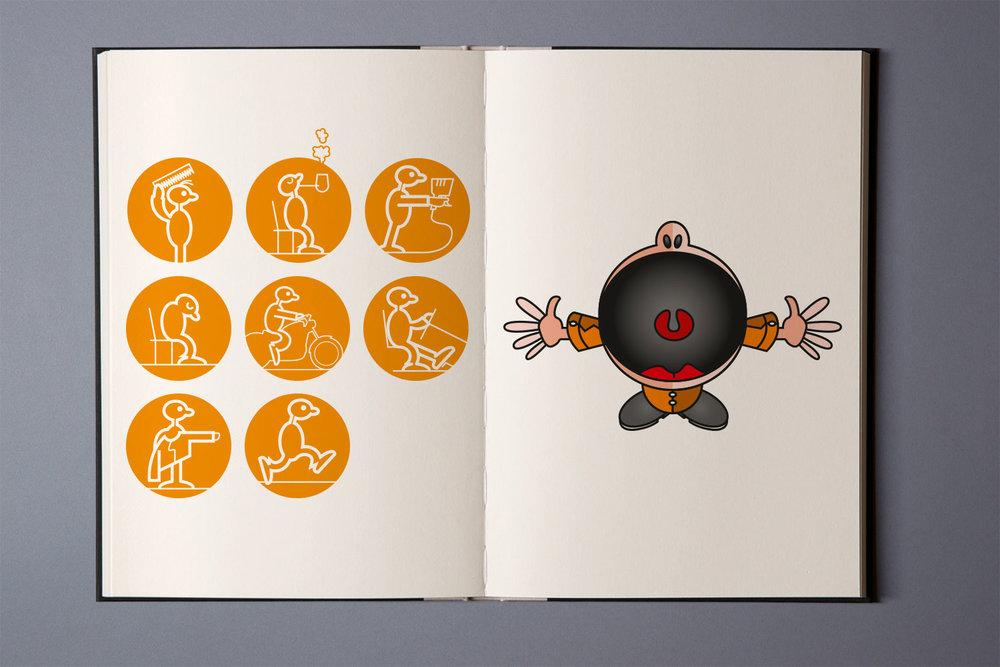 Animationen Ladebalken für eine Microsite, SPRIT Werbeagentur