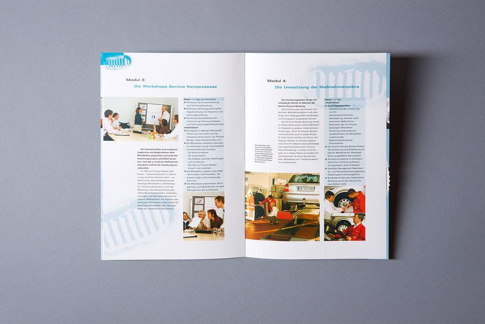 Informationsbroschüre zu den Serviceprozessen der AUDI AG