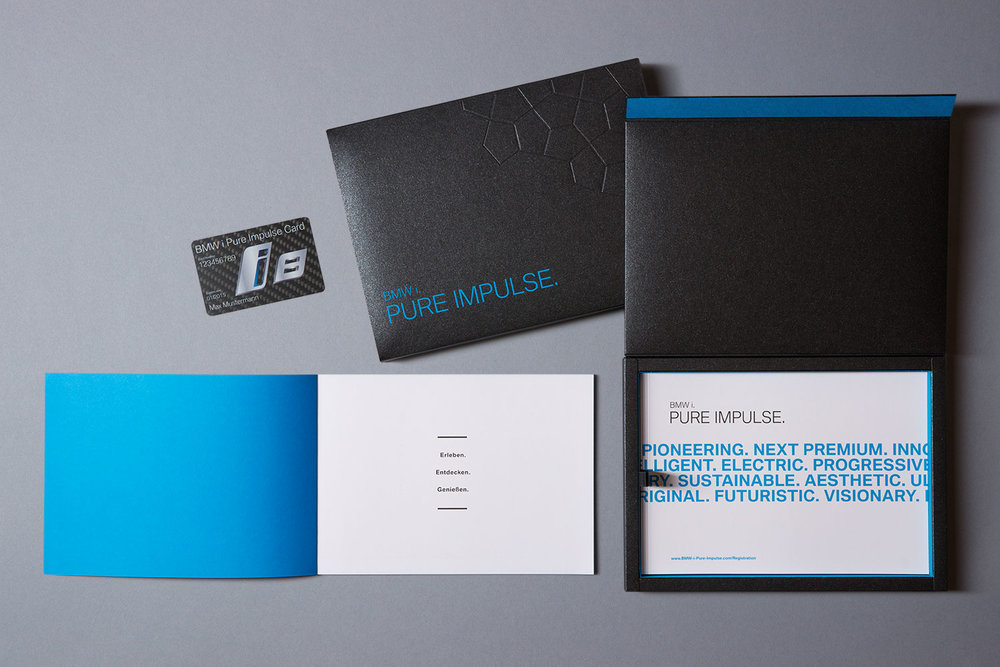 BMW i Pure Impulse, Welcome Package für BMW i 8 Fahrer