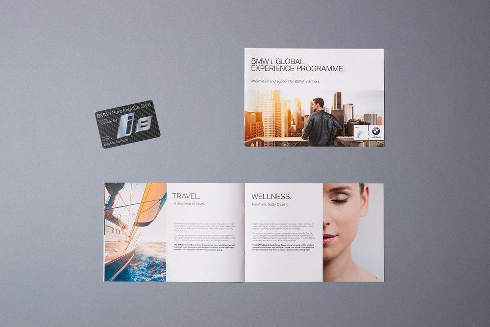 BMW i Pure Impulse, Händlerbroschüre mit Vorabinformationen zum Kundenprogramm