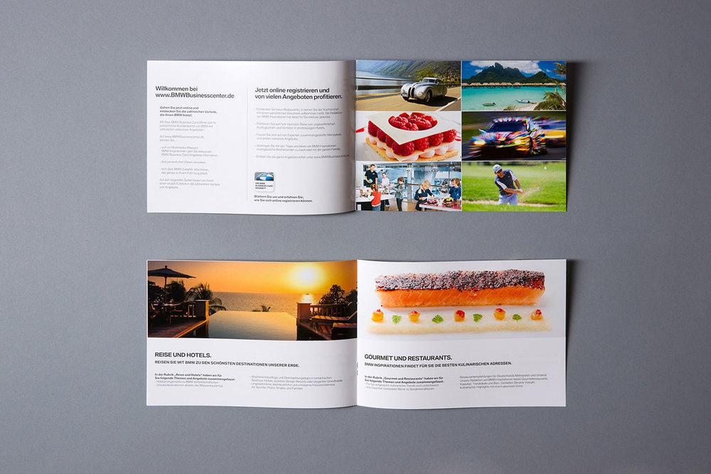 BMW Inspirationen, Broschüre als Teil des BMW Welcome Package für Neuwagenfahrer (2012)