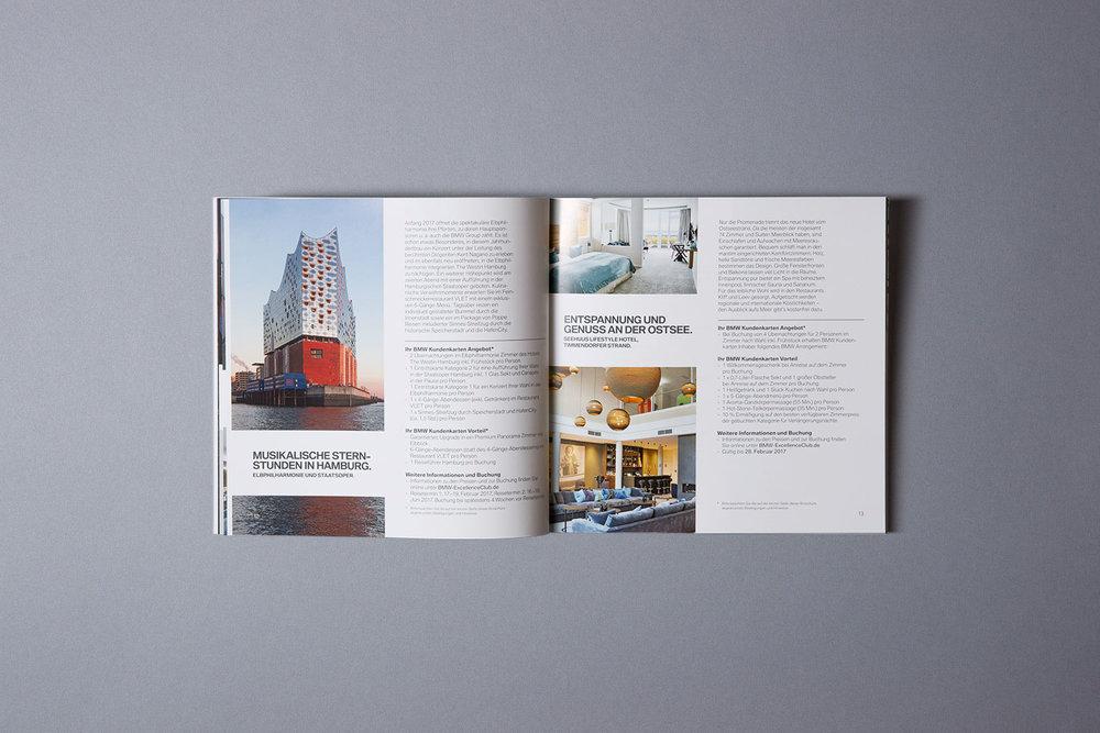Neue, umfangreichere BMW Inspirationen Broschüre (ab 2016)