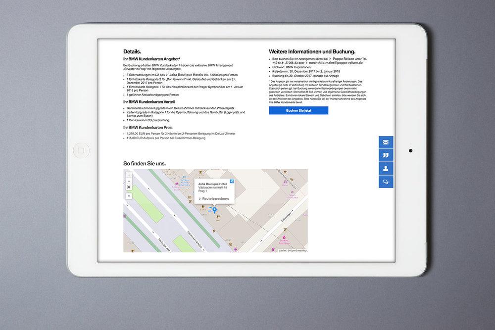 Neue BMW Inspirationen Präsenz auf dem MeinBMW Webportal (2016)