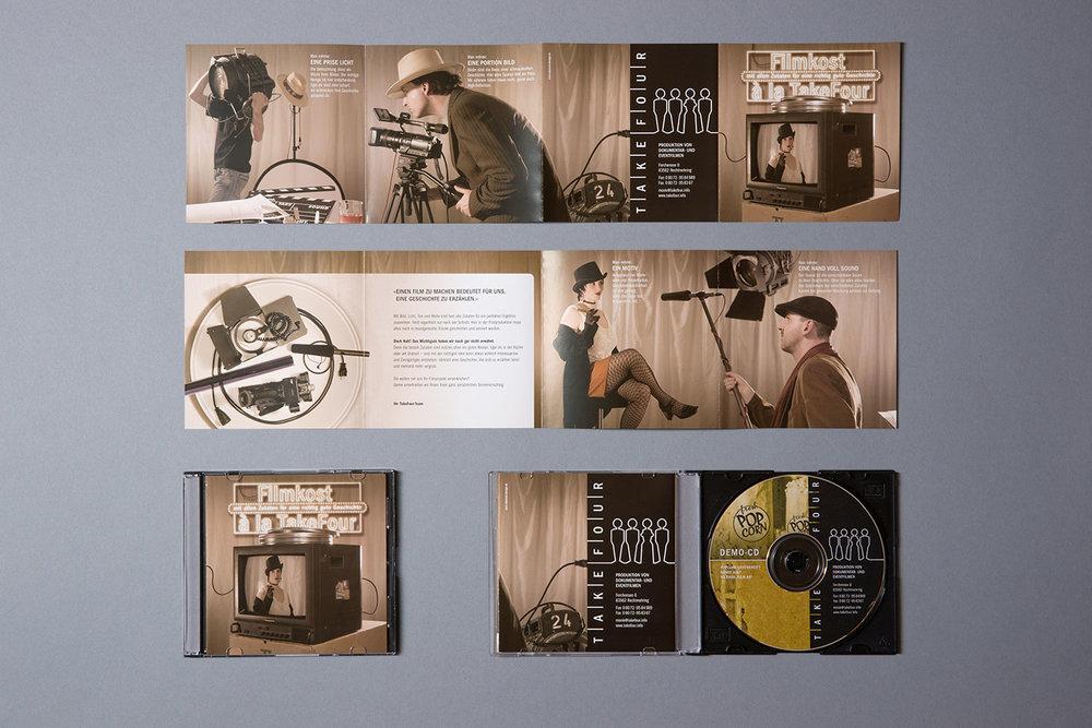 Demofilm mit Booklet