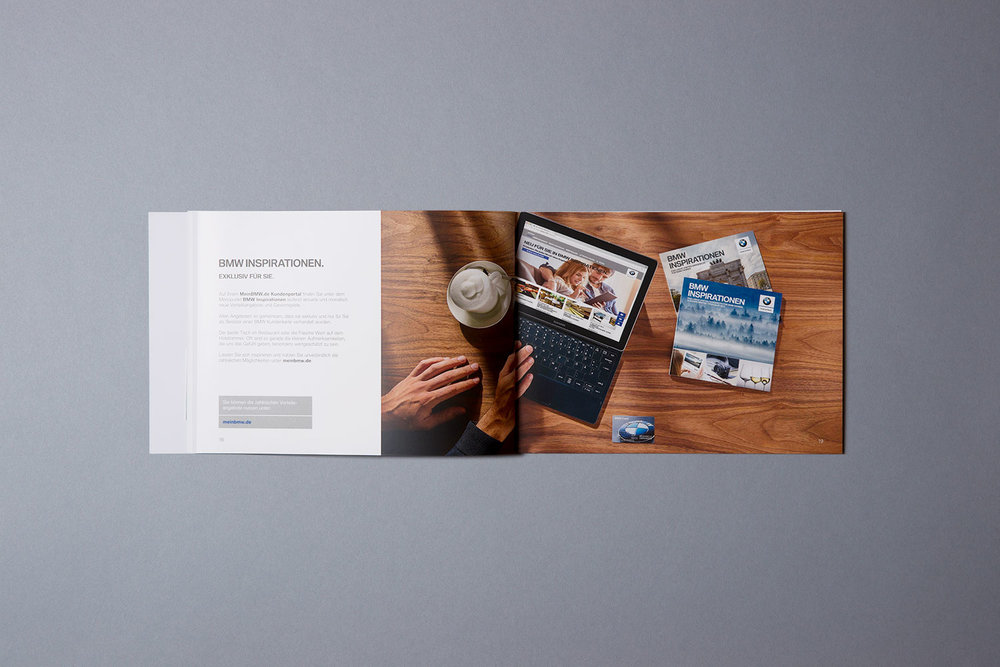 Neues BMW Welcome Package mit Informationen zu allen Vorteilen der BMW Card (2016)