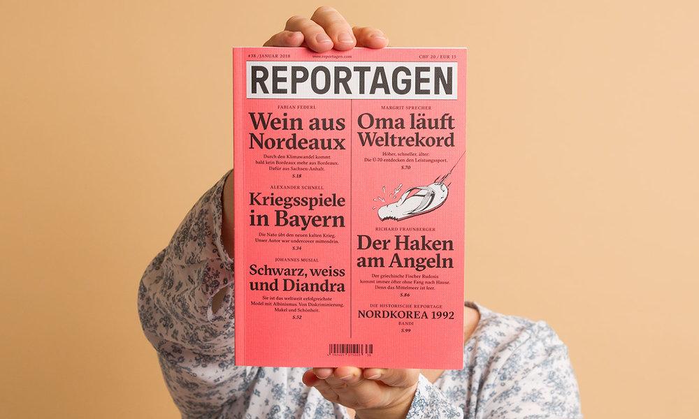 Reportagen,Puntas Reportagen AG, Bern