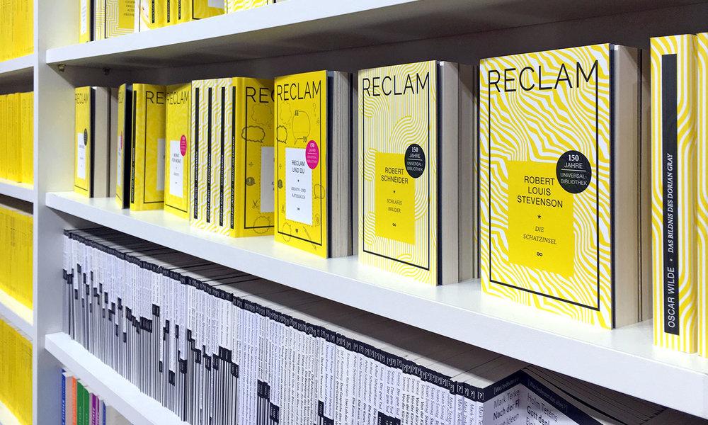 Reclam auf der Leipziger Buchmesse 2018