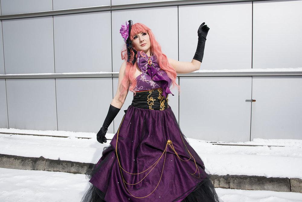 Minea alias Luka Megorine aus der Gesangsgruppe Vocaloid