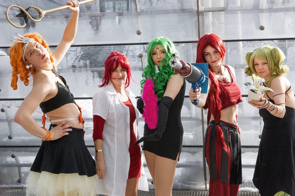 Family & Friends: Sailor Moon ist eines der beliebtesten Erzähl-Universen.