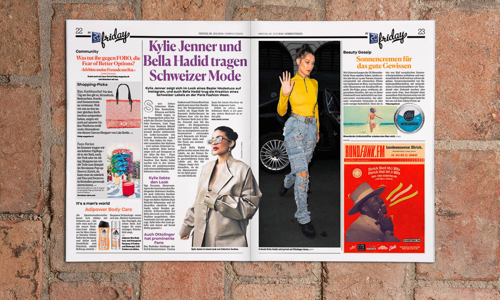 Pendlerzeitung 20 Minuten; Quelle: Tamedia AG