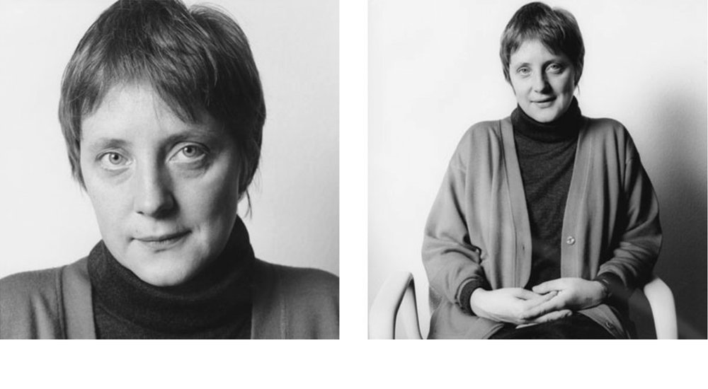 © Herlinde Koelbl: Spuren der Macht, Angela Merkel 1991