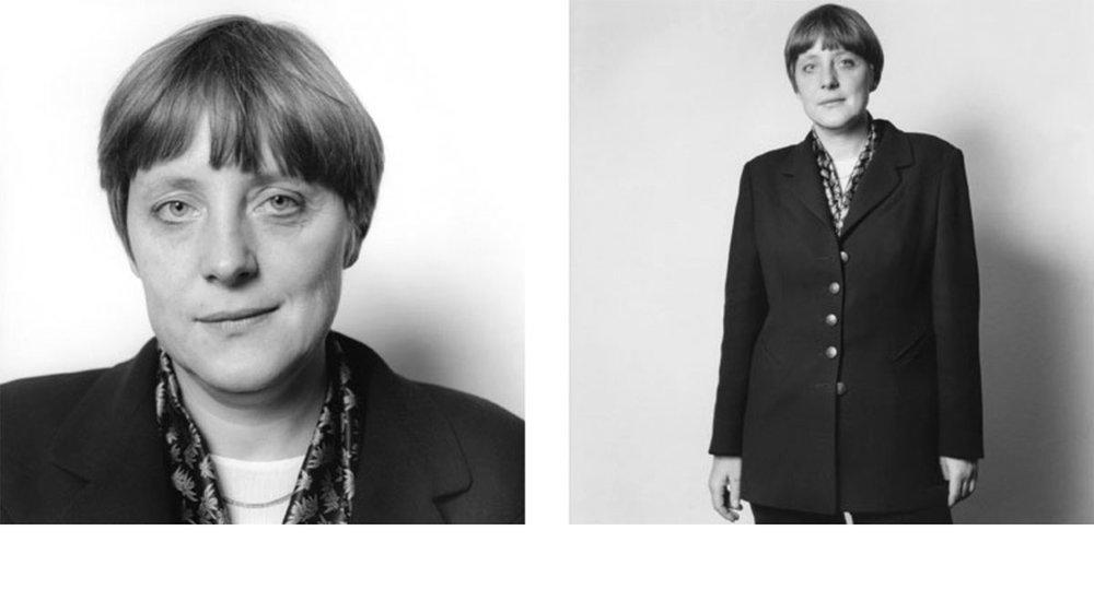 © Herlinde Koelbl: Spuren der Macht, Angela Merkel 1995