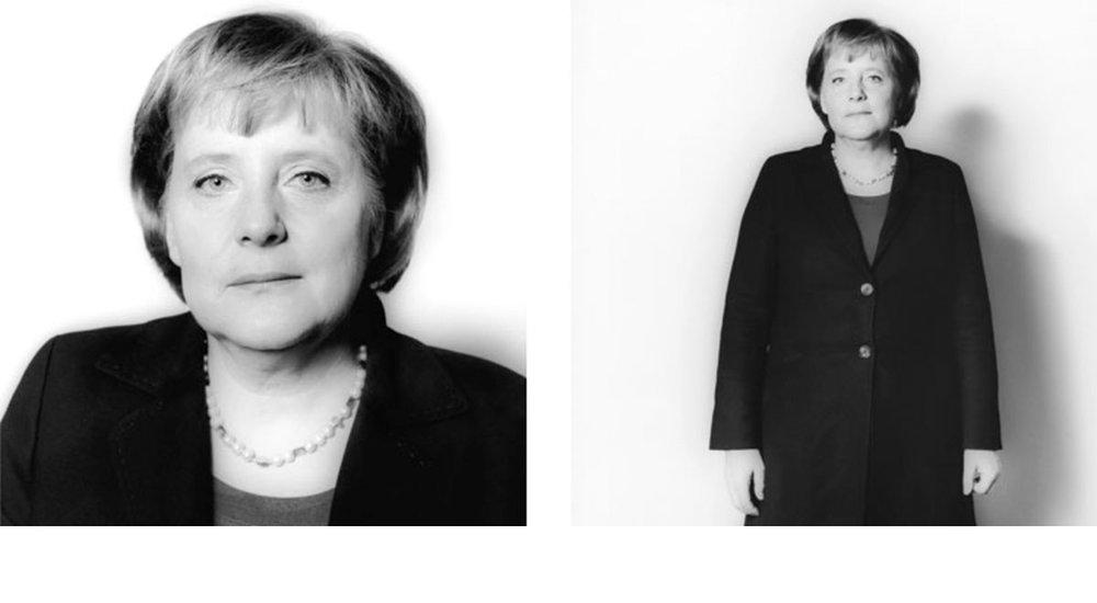© Herlinde Koelbl: Spuren der Macht, Angela Merkel 2006