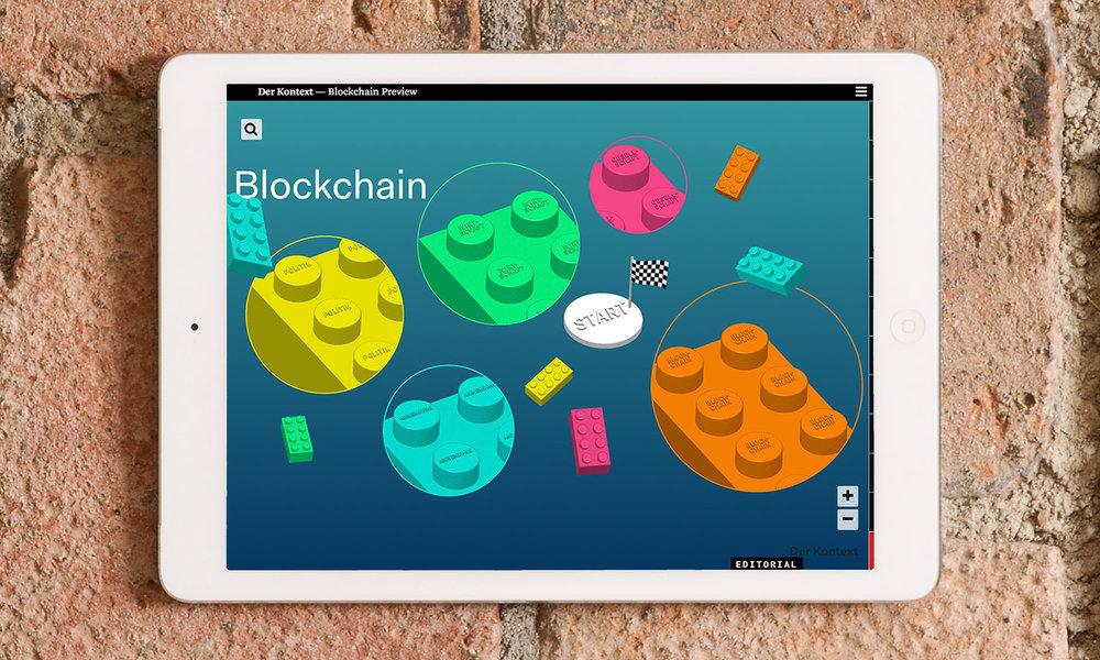 Der Kontext, Themenkomplex Blockchain