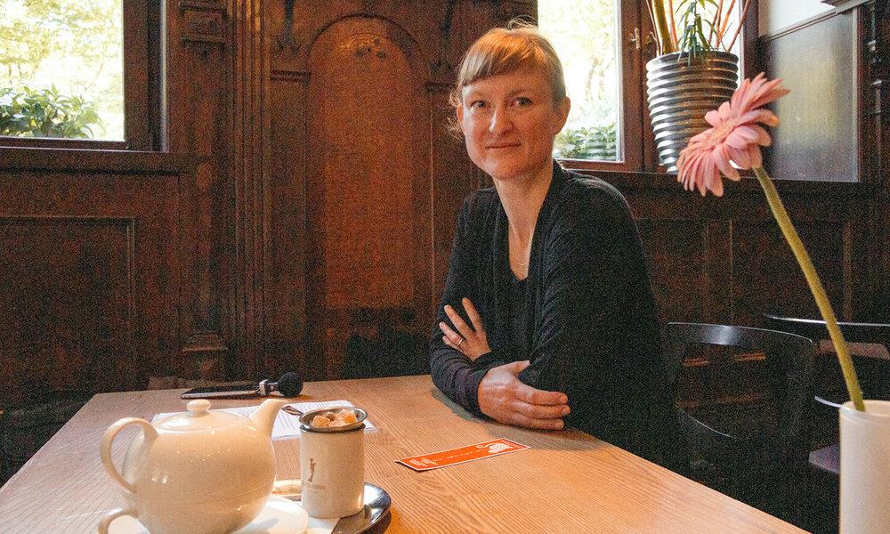 Julia Köberlein,Mitgründerin und Kreativdirektorin des Start-ups Kontextlab.