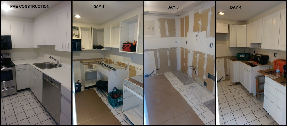 This week's progress.  Only 3 more weeks of reno to go!